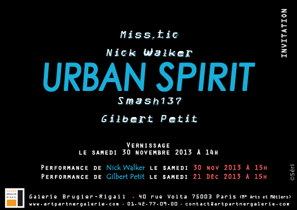 Invitation - Urban spirit, 2013