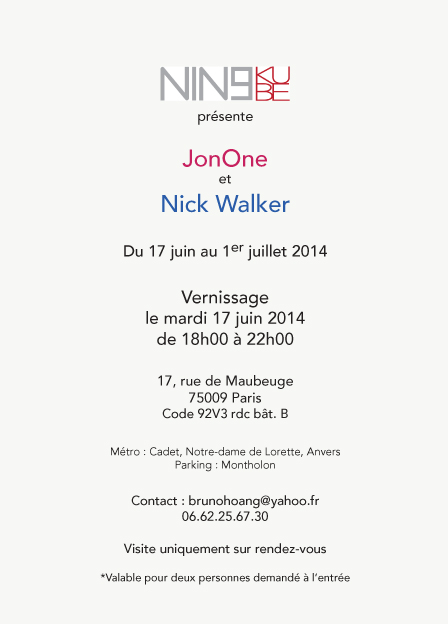 invit JonOne NickWalker