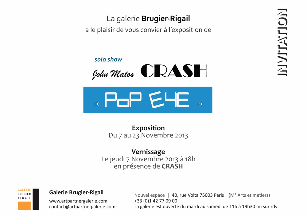 invitation Crash 2013